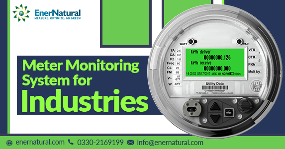 Meter monitoring system for industries